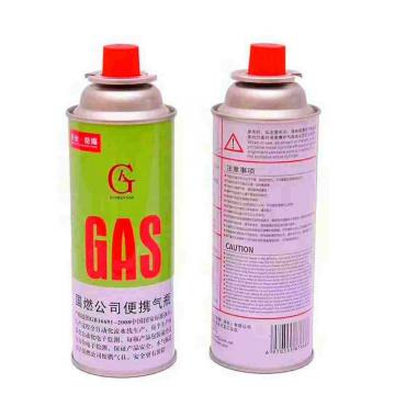 Butane gas cartridge canister can cylinder for portable camping stoves