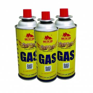 Portable Fuel Cylinder Cooker Empty 220gr butane gas cartridge and camping gas butane canister refill