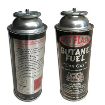 Butane mixture 190 gr Camping butane gas cartridge for portable gas stove