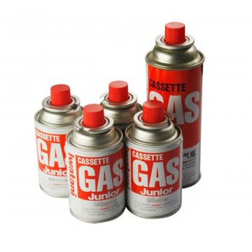 Empty camping gas can butane gas canister gas container gas cylinder 190 gr